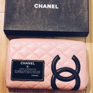 Authentic Pink Chanel Clutch